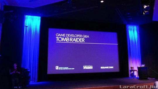 Tomb Raider Q&A BAFTA