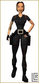 Кошачий костюм Tomb Raider: 3