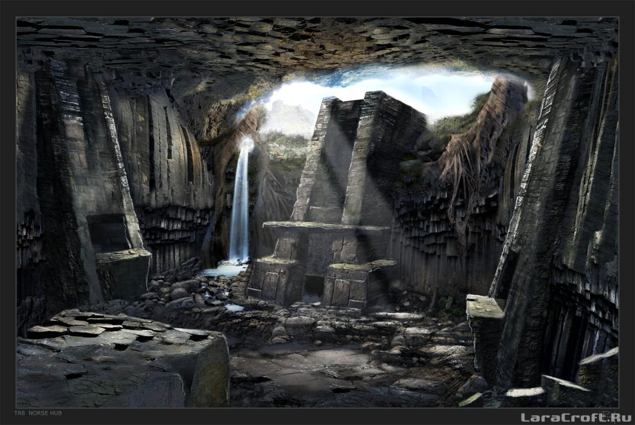 Лара Крофт Underworld Игру