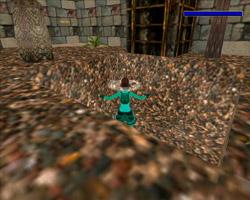 Скриншот из созданного уровня