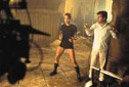 Фотографии со съемок фильма Lara Croft: Tomb Raider